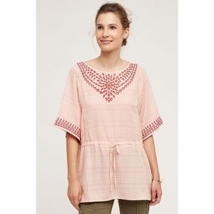 Anthropologie One September pink Tunic Top.